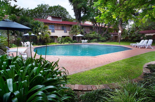 Have a refreshing swim in the sparkling pool at Garden Court Polokwane.